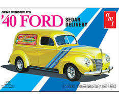 AMT Gene Winfield 1940 Ford Sedan Delivery Plastic Model Vehicle Kit 1/25 Scale #769