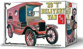AMT 1923 Ford Model T Delivery Plastic Model Vehicle Kit 1/25 Scale #860-12
