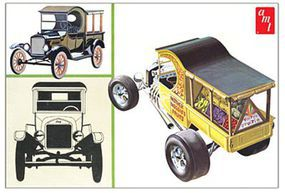 AMT 1925 Ford T Fruit Wagon Plastic Model Car Kit 1/25 Scale #869_12