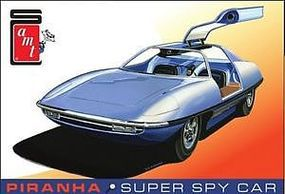 AMT Piranha Spy Car Plastic Model Car Kit 1/25 Scale #900-12