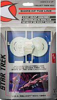 AMT Ships of the Line Star Trek Cadet Asst Snap Tite Plastic Model Figure Kit 1/2500 #914-12