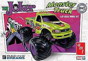 AMT Joker Monster Truck Snap Tite Plastic Model Vehicle Kit 1/32 Scale #941-12