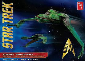 AMT Star Trek Klingon Bird Of Prey Plastic Model Spaceship Kit 1 350 Scale