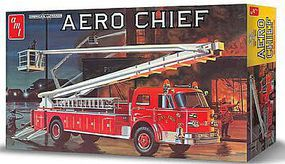 AMT American LaFrance Aero Chief Fire Truck Plastic Model Truck Kit 1/25 Scale #98