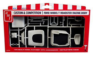 AMT/ERTL Ford Racing T Body Car -- Plastic Model Vehicle Accessory Kit -- 1/25 Scale -- #pp9