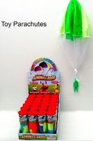 Aeromax Toy Parachute w/Figure in Plastic Tube