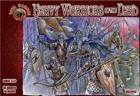 Alliance Heavy Warriors of the Dead Mythical Figures (40) Plastic Model Fantasy Figure 1/72 #72012