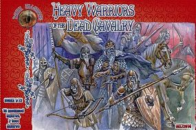 Alliance Heavy Warriors of the Dead Cavalry Mythical Figures Plastic Model Fantasy 1/72 #72014