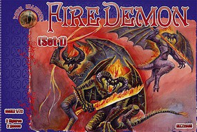 Alliance 1/72 Fire Demon Set #1 Figures (2)