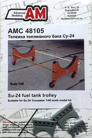 Advanced 1/48 Su24 Fuel Tank Trolley for TSM (D)