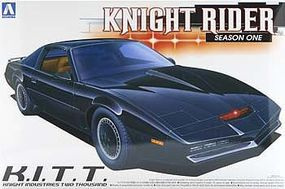 Aoshima Knight Rider 2000 KITT Season 1 Plastic Model Car Kit 1/24 Scale #0412