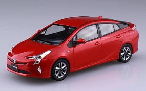 Aoshima 1/32 Toyota Prius Car (Snap Molded in Red)