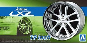 Aoshima 1/24 Kranze LXZ 19 Tire & Wheel Set (4)