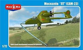 AMP Moskalyev SAM23 Soviet Experimental Gound-Attack Plastic Model Airplane Kit 1/72 #7202