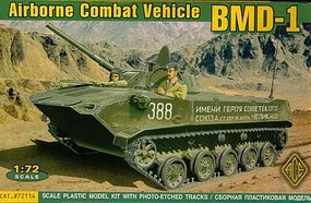 Ace BMD1 Airborne Combat Vehicle Plastic Model Military Vehicle 1/72 Scale #72114