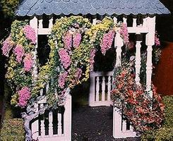 Architectural-Model Wisteria Vine Kit Model Railroad Scenery #90670
