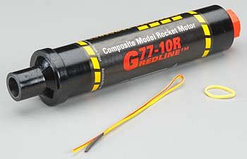 Aerotech G77-10R 29/40-120 Single Use Motor (1) -- G Composite Model Rocket Engine -- #77710
