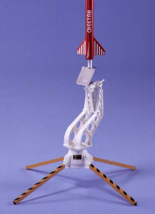 how to prepare a model rocket for launch