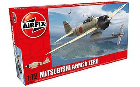 Airfix A6M2b Zero Aircraft Plastic Model Airplane Kit 1/72 Scale #01005