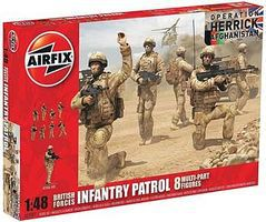 Airfix Modern British Army Troops Plastic Model Military Figure 1/48 Scale #03701