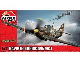 Airfix Hawker Hurricane Mk I Aircraft Plastic Model Airplane Kit 1/72 Scale #1010