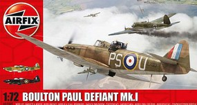 Airfix Boulton Paul Defiant Mk I Night Fighter Plastic Model Airplane Kit 1/72 Scale #2069