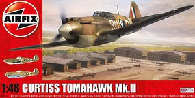 Airfix Curtiss Tomahawk Mk IIb Fighter Plastic Model Airplane Kit 1/48 Scale #5133