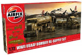 Airfix WWII USAAF 8th Airforce Bomber Resupply Set Plastic Model Airplane Kit 1/72 Scale #6304