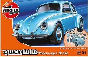 Airfix Classic VW Beetle Car Quick Build Kit Snap Tite Plastic Model Vehicle #j6015