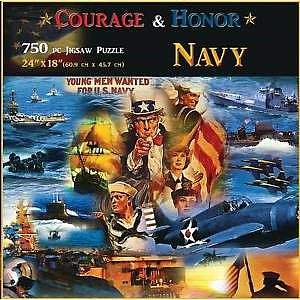Americana Puzzles Navy -- Jigsaw Puzzle 600-1000 Piece -- #70315