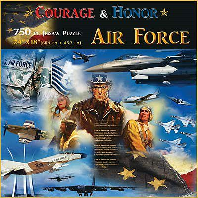 Americana Puzzles Air Force -- Jigsaw Puzzle 600-1000 Piece -- #70317