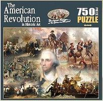 Americana Historic Collage- American Revolution Jigsaw Puzzle 600-1000 Piece #76031
