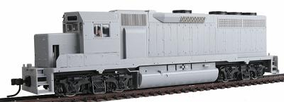 Atlas EMD GP40 Standard DC Undecorated -- HO Scale Model Train Diesel Locomotive -- #10000079