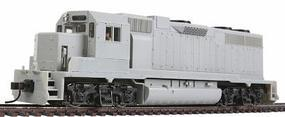 Atlas EMD GP38 Standard DC Undecorated HO Scale Model Train Diesel Locomotive #10000092