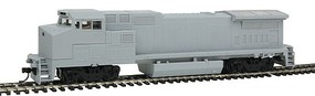 Atlas Dash 8-40BW DC Undecorated Gull HO Scale Model Train Diesel Locomotive #10001810