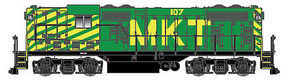 Atlas GP7 DC Missouri Kansas Texas #107 HO Scale Model Train Diesel Locomotive #10002016
