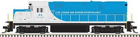 Atlas Alco C420 Phase 1 Low-Nose, Dynamic Brakes - ESU LokSound and DCC - Master G Lehigh & Hudson River 22 (blue, white)