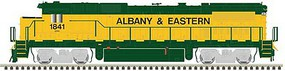 Atlas GE Dash 8-40B - LokSound and DCC - Master(R) Gold Albany & Eastern 1841 (yellow, green)