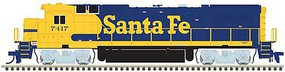 Atlas GE Dash 8-40B - LokSound and DCC - Master(R) Gold Santa Fe 7417 (Warbonnet, blue, yellow)