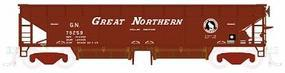 Atlas 70-Ton Hart Ballast Car Great Northern HO Scale Model Train Freight Car #1164