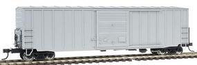 Atlas ACF(R) 50 Precision Design Rib Side Boxcar Undecorated HO Scale Model Train Freight Car #1350
