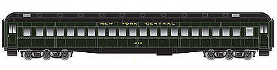 Atlas Heavyweight Coach New York Central 1228 -- HO Scale Model Train Passenger Car -- #20001700