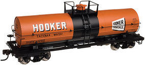 Atlas 11,000-Gallon Tank Car w/Platform Undecorated HO Scale Model Train Freight Car #20002640