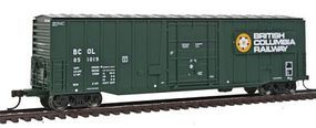 Atlas 5277 Plug-Door Boxcar British Columbia HO Scale Model Train Freight Car #20002675