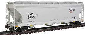 Atlas 4650 3By Hopper Union Pacific #70125 HO Scale Model Train Freight Car #20002857