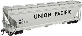Atlas 4650 3-Bay Centerflow Covered Hopper Union Pacific HO Scale Model Train Freight Car #20002861