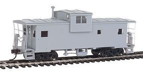 Atlas EV Caboose Undecorated without Roof Walk HO Scale Model Train Freight Car #20003114