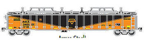 Atlas Gondola with Cover Armco #240501 HO Scale Model Train Freight Car #20003243