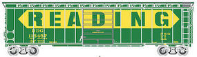 Atlas 50 Single Door Boxcar Reading #115457 HO Scale Model Train Freight Car #20003387