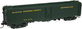 Atlas Steel Express Reefer Railway Express Agency #6317 HO Scale Model Train Freight Car #20003393